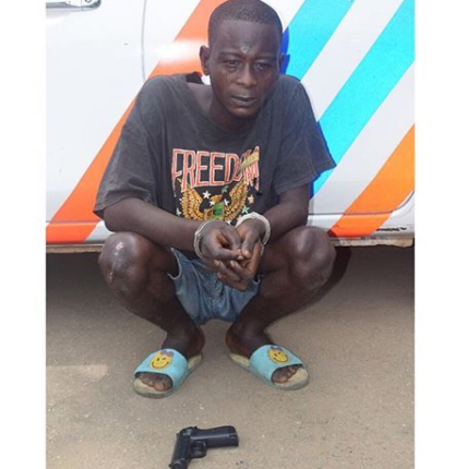 How we rob stranded motorists with?toy guns in Lagos ? Arrested suspect reveals