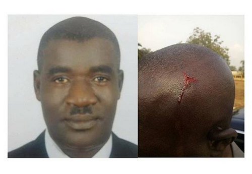 Photos: Anambra council boss allegedly beats up worker for whistle blowing fraudulent activities happening under his watch