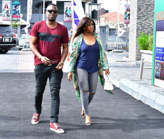 Photo: Dr Sid and wife, Simi Esiri step out for movie date