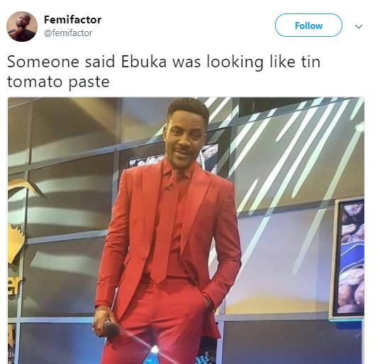Choi! Nigerians mock Ebuka