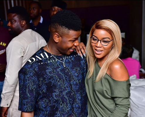 The way John Boyega looked at fashion stylist, Lola OJ tho! (Photo)