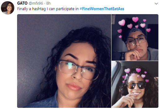 #FineWomenThatEatAss is trending on Twitter and photos of some of the women will leave you in awe