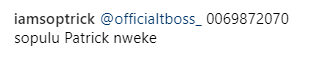 Ouch! TBoss humiliates a follower who attacked her on Instagram