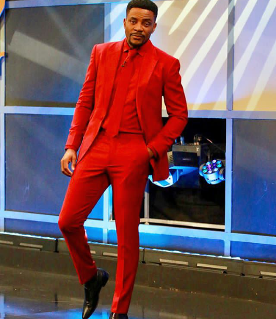 Ebuka Obi-Uchendu makes light of the drama surrounding his outfit at the last BBNaija eviction show