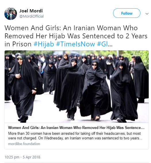 """""""Do you have idea how many men she left in erection?"""" Muslim man defends the 2-year jail sentence given to a woman for removing her hijab"""