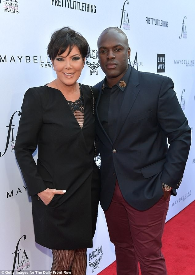 Kris Jenner, 62, rocks mini dress as she steps out with her beau Corey Gamble to event (Photos)