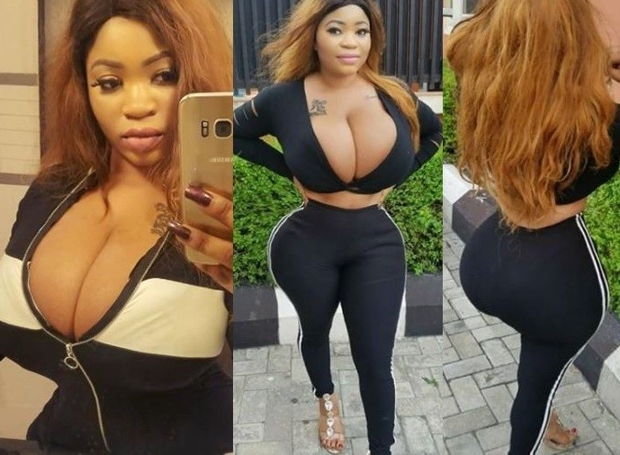 Roman Goddess flashes her massive cleavage and curves in new Instagram photos