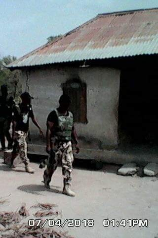 Photos: Army destroys herdsmen militia camps and armed robbers, kidnappers hideouts in Benue and Taraba States