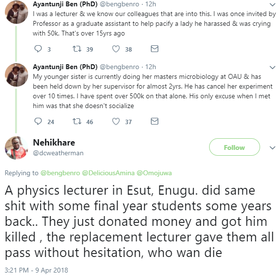 Enugu State University of Science and Technology students allegedly hire assassins to kill lecturer obstructing their graduation