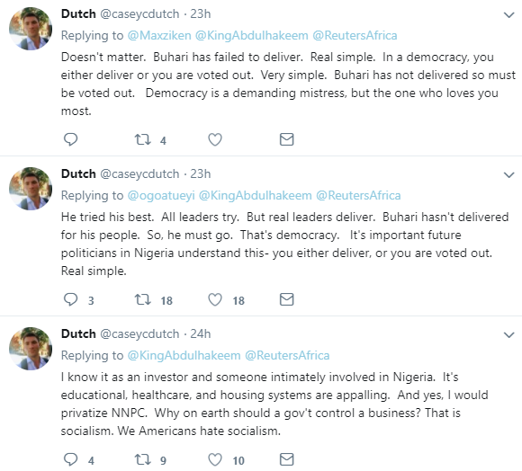 Buhari hasn