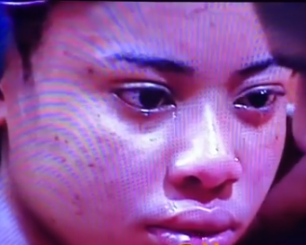 #BBNaija housemate, Nina weeps as she calls off her