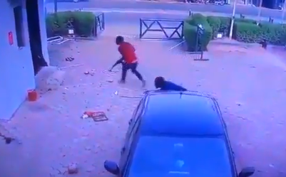 Video: CCTV footage from the Offa bank robbery that left over 20 persons dead surfaces online
