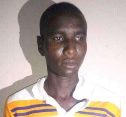 Photo: Boko Haram bomb manufacturer arrested in Gombe