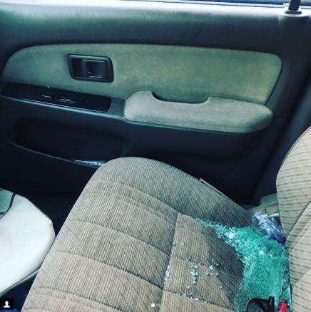 Lady slapped and robbed by traffic robbers along Eko birdge shares photos from the incident