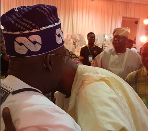 All is well! Bola Tinubu and Tunde Fashola