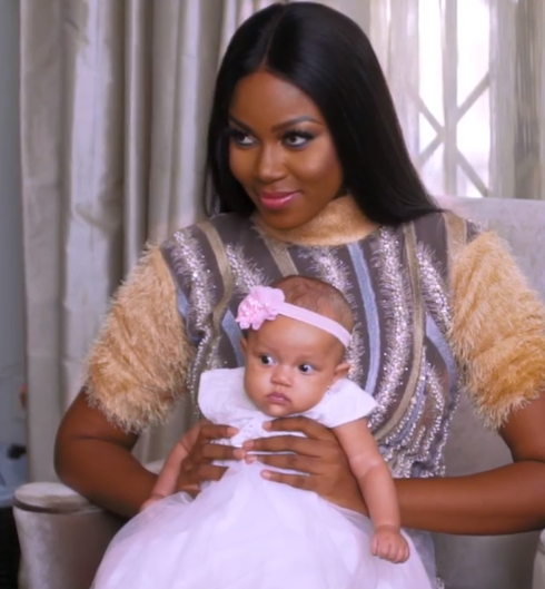 Beautiful new photos of actress Yvonne Nelson and her daughter