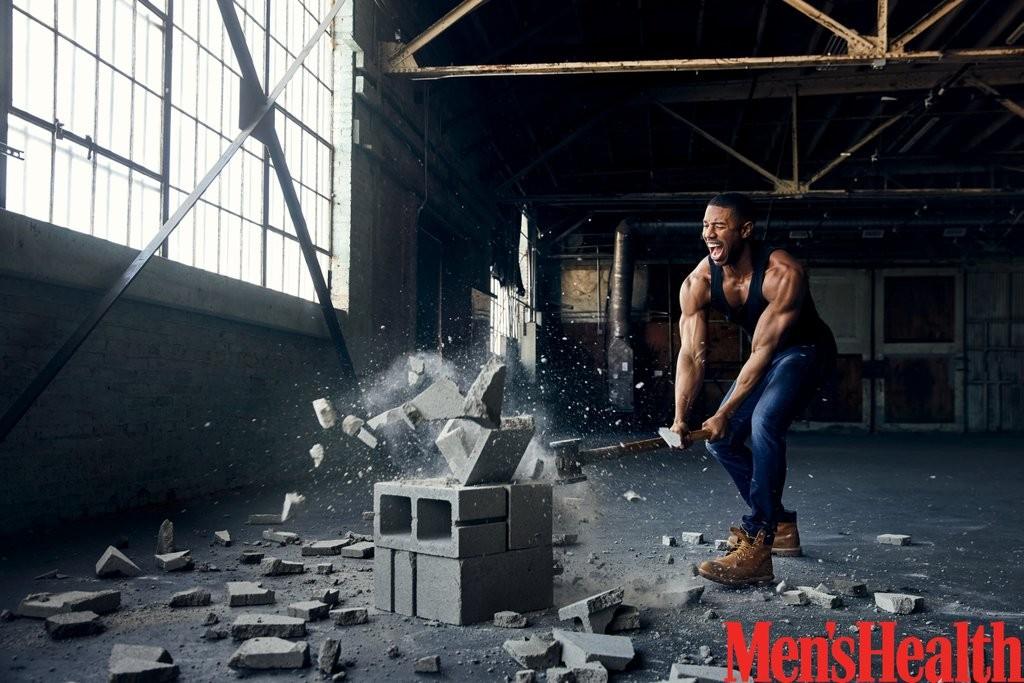 Black Panther star Michael B Jordan flaunts his hot physique for Men