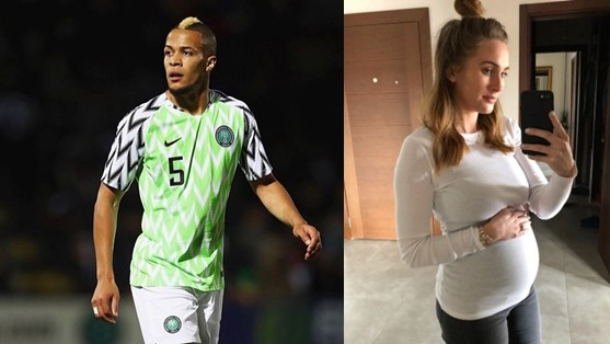 Footballer William Troost-Ekong & girlfriend are expecting their first child