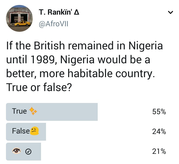 Would Nigeria have been a better country if the British colonists remained?