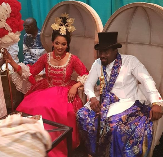 Photos from the traditional wedding of ex-gov, Donald Duke