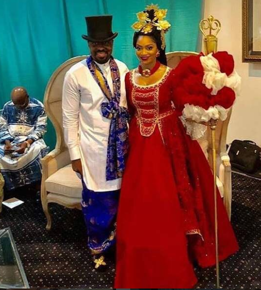 Photos from the traditional wedding of ex-gov, Donald Duke