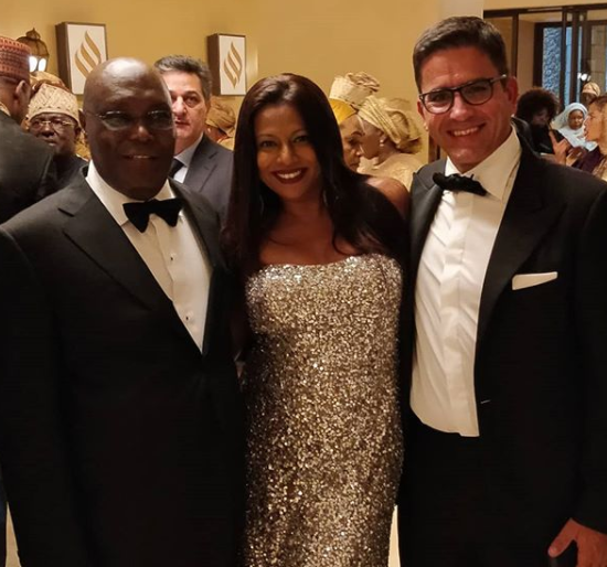 Photos from the grand wedding of ex-VP Atiku Abubakar