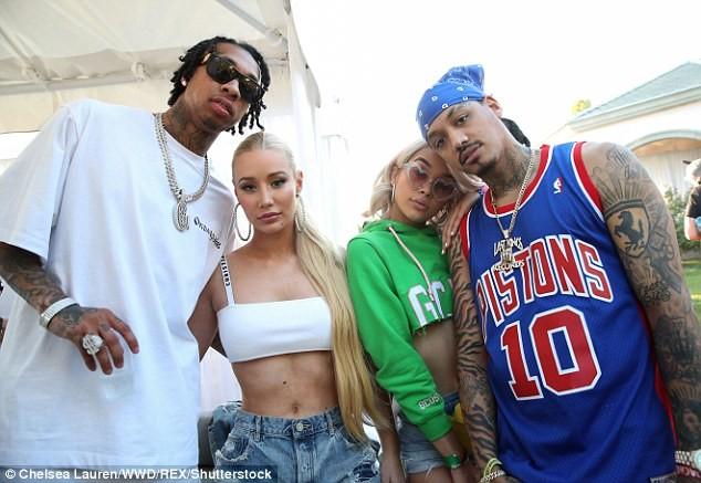 Tyga and Iggy Azalea spark dating rumours as they attend Rihanna