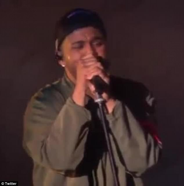The Weeknd cries on stage while singing about Selena Gomez split during Coachella performance (Videos )?