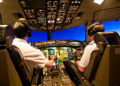 Two Pilots suspended for allowing