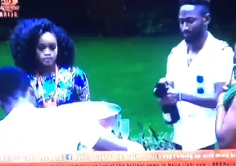 #BBNaija: Watch the epic moment Ceec walked back into the house when her other housemates thought she had been evicted(Video)
