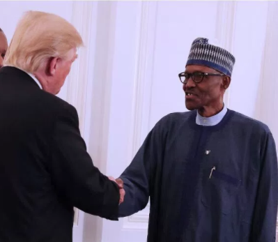 President?Trump invites Buhari to Washington on April 30th