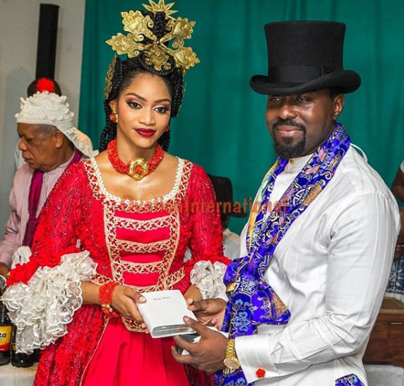 More photos from the traditional wedding of ex-governor, Donald Duke