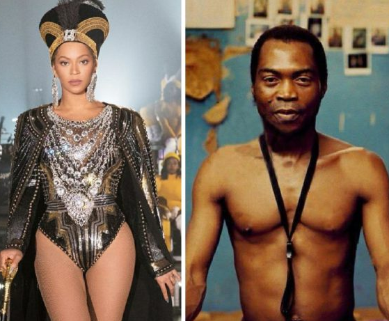 Beyonce?pays tribute to Fela Kuti with her?performance at Coachella (Video)
