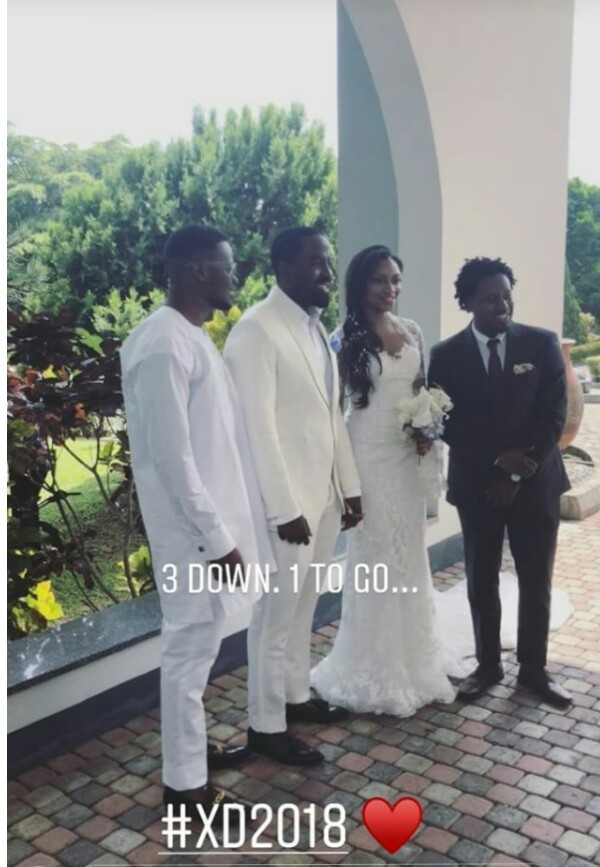 Photos from the court wedding of Xerona Duke and DJ Caise