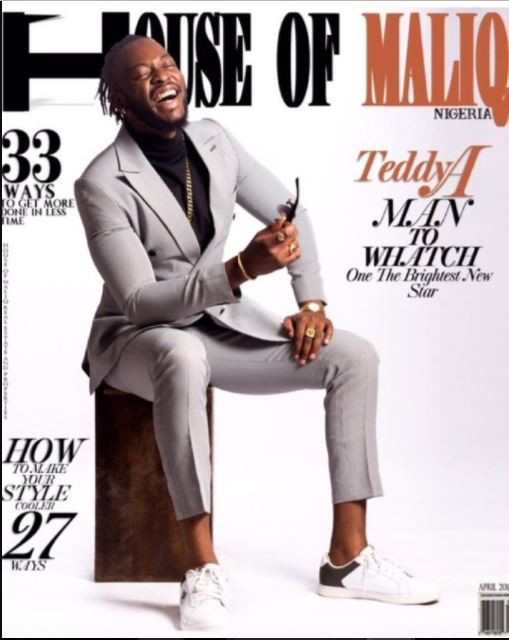 More photos of Teddy A and BamBam as they cover House of Maliq April Edition