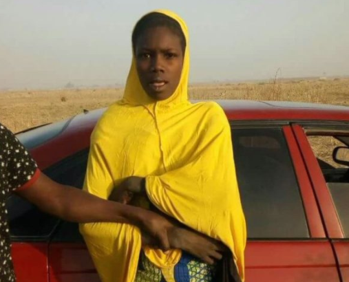 Photo:?Police arrest female suicide bomber in Maiduguri