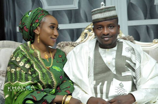 Hausa wife receives praise after she threw a wedding party for her husband who was taking a second wife, then fed the new wife at the event
