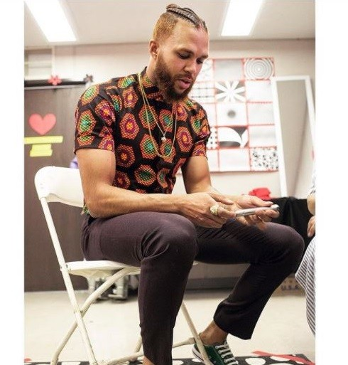 Jidenna shows off his new braided hairstyle (Photos)