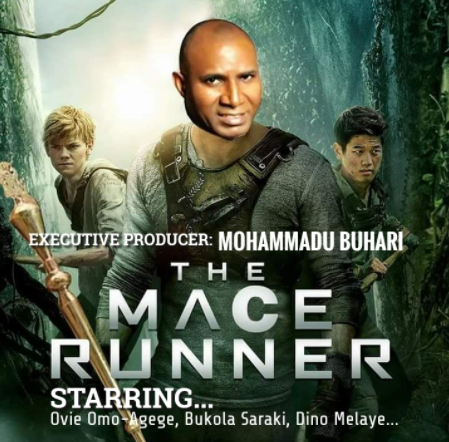 The Mace Runner: Senator?Ovie Omo-Agege?makes hilarious movie cover (Photo)