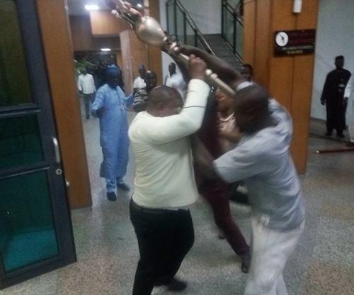 PDP accuses APC, Presidency of being behind NASS Invasion