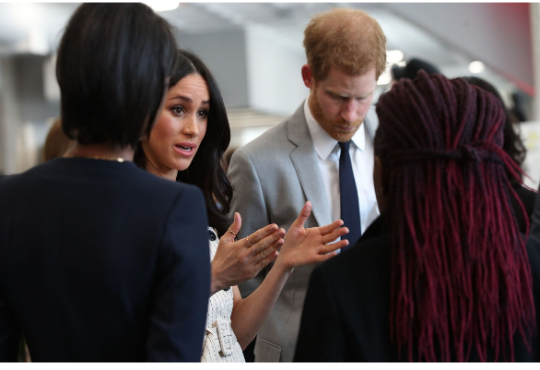 Meghan Markle makes history by becoming the first ever royal fiancee to speak at the Commonwealth Heads of Government Meeting