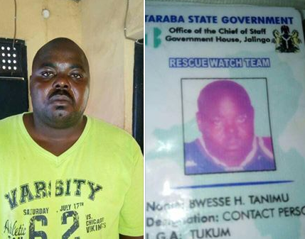 Photos:  Army arrests notorious criminal in Taraba