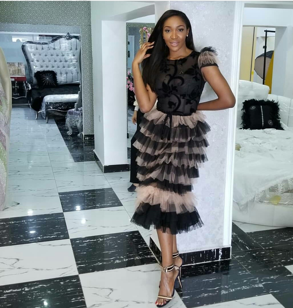 Idia Aisien looking elegant in Trish