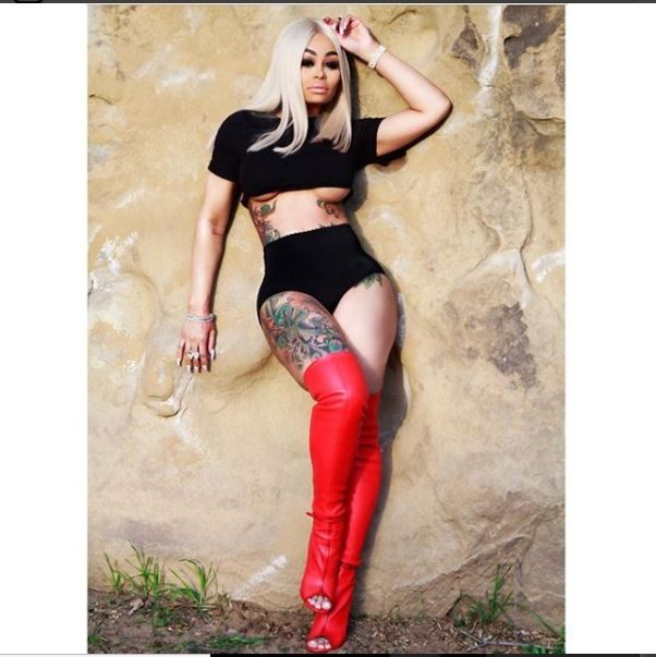 Blac Chyna shows off massive underboobs in new racy photos