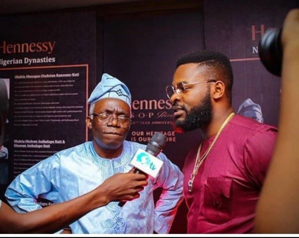 Lol..Caption this photo of Falz and his dad Femi Falana