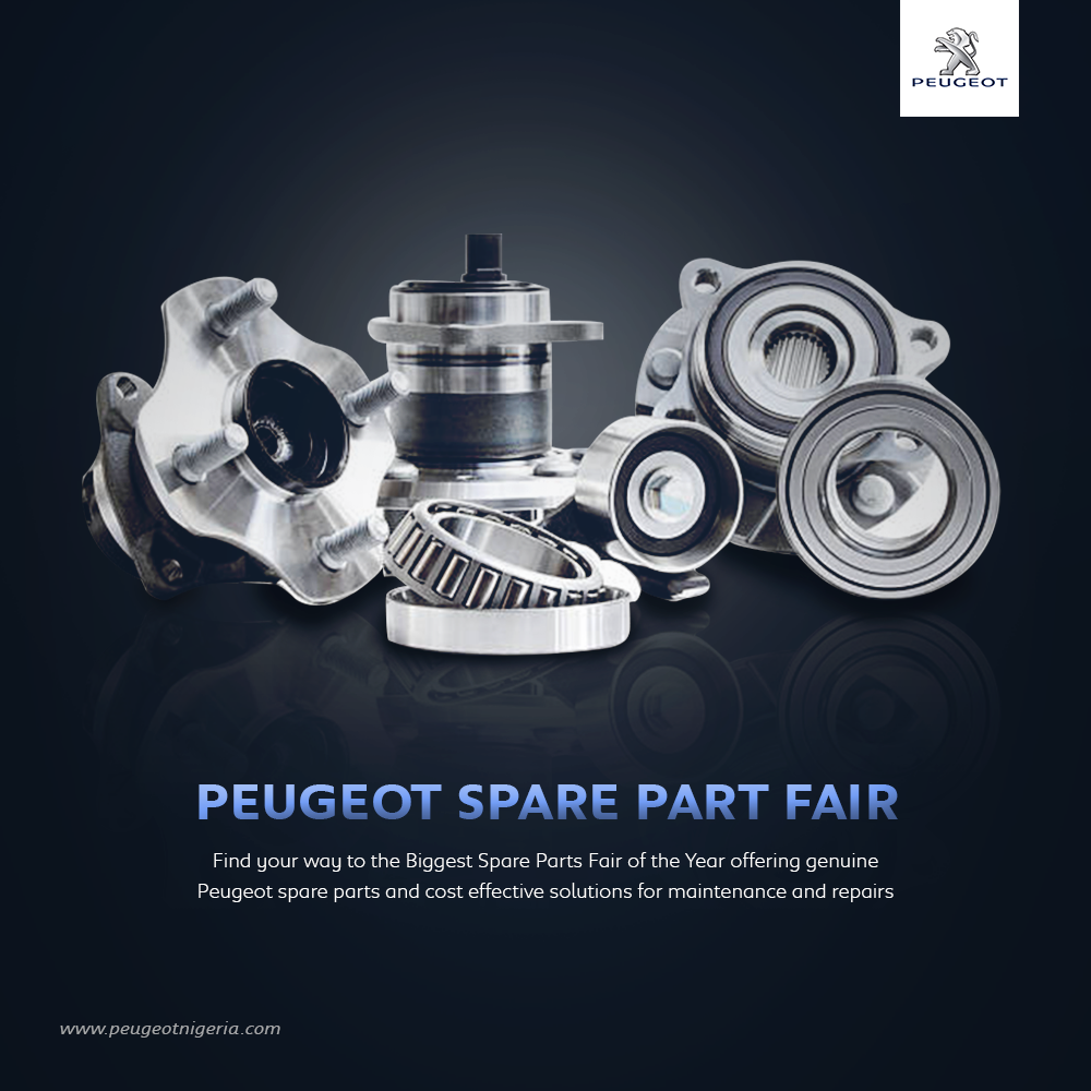 Peugeot Automobile Nigeria hosts her first Spare Parts Fair!