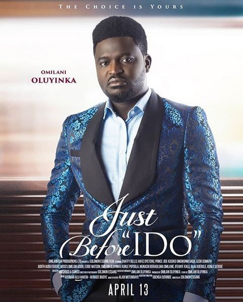 Meet the producer of ?Just Before I Do?, Omilani Olayinka who believes story is everything
