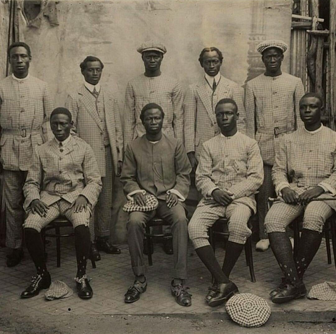 See what Lagos big boys looked like in 1913