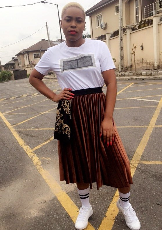 See the outfit this guy came up with when he styled his girlfriend