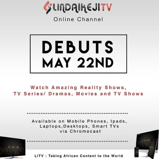 Linda Ikeji TV Online Channel set to debut on May 22nd